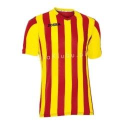Koszulka piłkarska JOMA Copa jasno żółto-czerwona