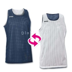 Koszulki koszykarskie JOMA Aro biała i fioletowa