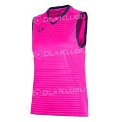 Koszulka damska bez rękawów JOMA Galaxy różowa
