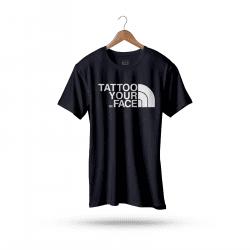 Koszulka Czarna – Tattoo Your Face