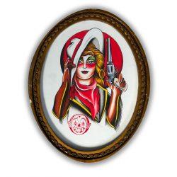 Ruslan Panflau – Obraz Kobiety w Ramie