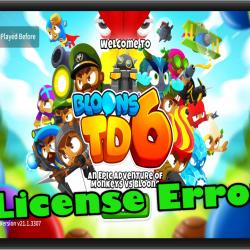 Bloons TD 6 License Error In Android Easy Fix