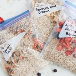 Pressure Cooker Meal Planning: Ready Mix Steel Cut Oats