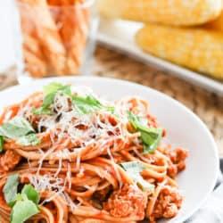 Instant Pot Fresh Tomato Marinara Sauce
