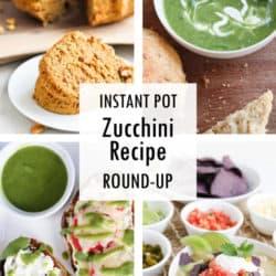 Instant Pot Zucchini Recipe Round Up
