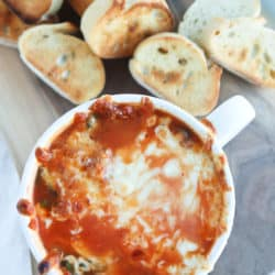 Instant Pot Cheesy Meatball Sub Soup
