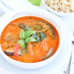 Instant Pot Thai Coconut Chicken Soup