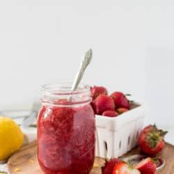 Instant Pot Strawberry Sauce