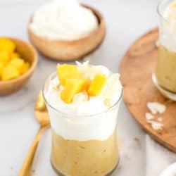Instant Pot Coconut Mango Tapioca Pudding – Naturally Sweetened!