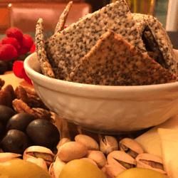 Keto Chia Seed Crackers Low Carb Recipe