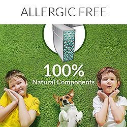 100% natural flea collar allergen allergic free components ingredients