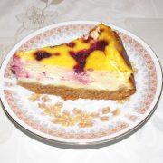 Cheesecake s mascarpone a lesnym ovocim