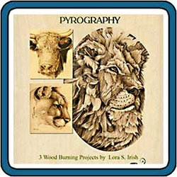 Animal Portrait Pyrography by Irish