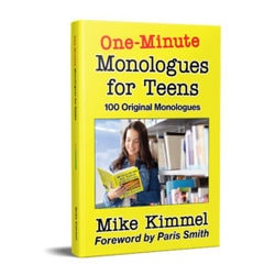 One-Minute Monologues For Teens Book Cover
