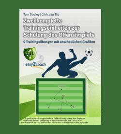Schulung des Offensivspiel - Fussball Übungen für dein Fußballtraining - Zwei komplette Trainingseinheiten zur Schulung des Offensivspiels