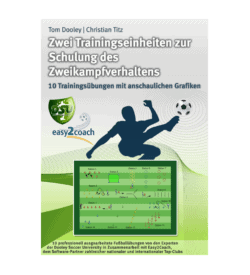 Schulung des Zweikampfverhaltens - Fußball Übungen für dein Fußballtraining - Zwei komplette Trainingseinheiten zur Schulung des Zweikampfverhaltens