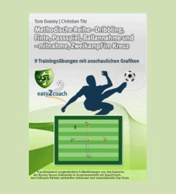Tempodribbling Fußball Übungen für dein Fußballtraining - Dribbling, Finte, Passspiel, Ballannahme und -mitnahme, Zweikampf im Kreuz