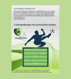 Spielform Spiel in die Tiefe im Fußball Fußball Übungen für dein Fußballtraining - Methodische Reihe: Spielformen mit langen Bällen und schnelles Spiel in die Spitze