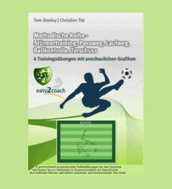 Stürmertraining Passweg Fußball Übungen für dein Fußballtraining - Methodische Reihe: Stürmertraining, Passweg, Laufweg, Ballkontrolle, Torschuss