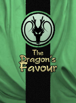 The Dragon's Favour card game title