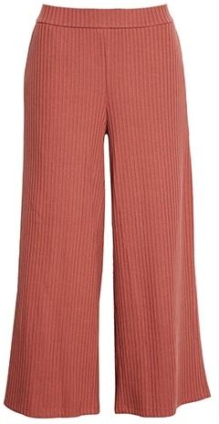 Eileen Fisher organic cotton wide leg pants | 40plusstyle.com