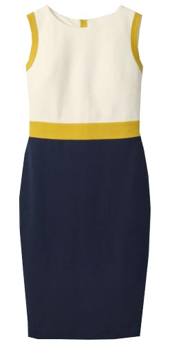 boden sheath dress | 40plusstyle.com