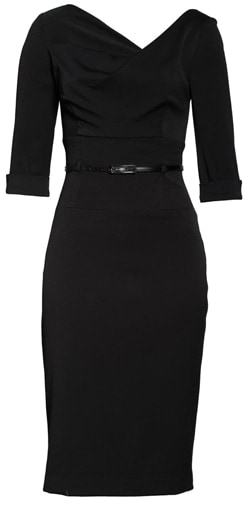 little black dress | 40plusstyle.com