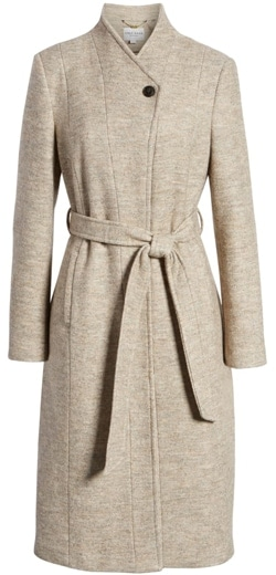 Classic clothes: Cole Haan Signature woven coat | 40plusstyle.com