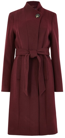 belted coat | 40plusstyle.com