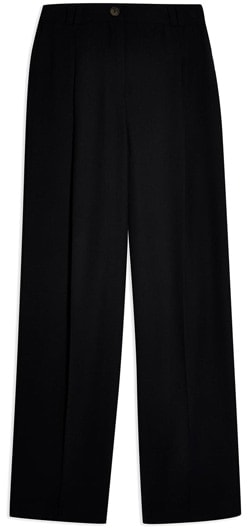 Topshop twill suit trousers | 40plusstyle.com