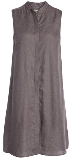 Anne Klein linen shirtdress | 40plusstyle.com