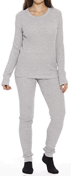 Just Love Women's thermal underwear pajama set | 40plusstyle.com