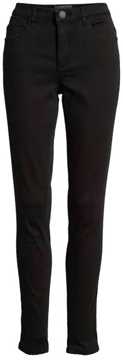 cropped black pants | 40plusstyle.com