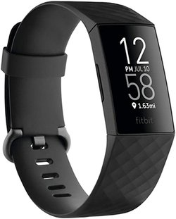 Gift ideas for women - Fitbit Charge 4 fitness and activity tracker | 40plusstyle.com