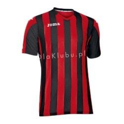 Koszulka piłkarska JOMA Copa czerwono-czarna