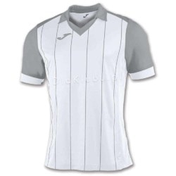 Koszulka piłkarska JOMA Grada biało-szara