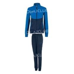Dres treningowy damski JOMA Essential niebiesko-czarny