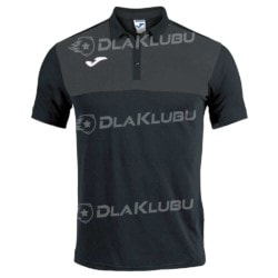 Koszulka polo JOMA Winner czarno-grafitowa