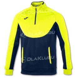 Bluza sportowa JOMA Essential granatowo-żółta fluo