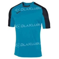 Koszulka sportowa JOMA Essential turkusowo-czarna