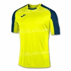Koszulka sportowa JOMA Essential żółta fluo/czarna