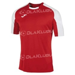 Koszulka sportowa JOMA Essential czerwono-biała