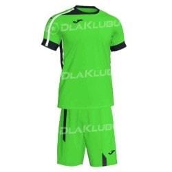 Komplet piłkarski JOMA Roma II zielono czarny