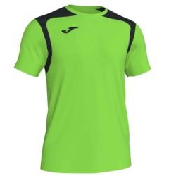 Koszulka piłkarska Champion V zielono czarna