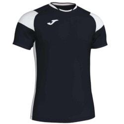 Koszulka piłkarska JOMA Crew III czarno biała