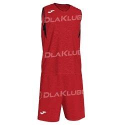 Strój koszykarski JOMA Campus czerwono czarny