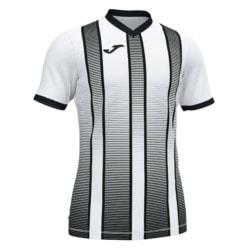 Koszulka piłkarska Joma Tiger biało czarna 101464.201