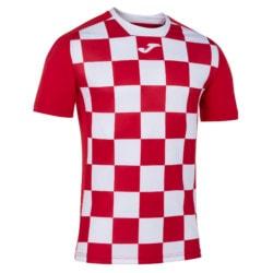 Koszulka piłkarska Joma Flag czerwono biała 1101465.602