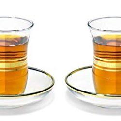 vasos de té