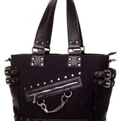 Apparel ESPOSAS Gótico Rockabilly Punk Bolso De Lona